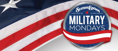 Military Mondays at Station Casinos