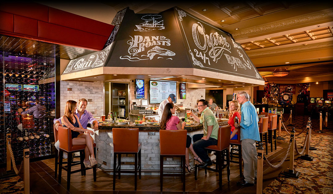 Seafood Restaurants In Las Vegas The Oyster Bar Cajun