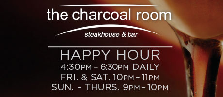 Charcoal Happy Hour