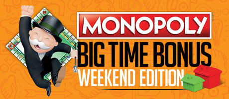 Monopoly Big Time Bonus Weekend Edition