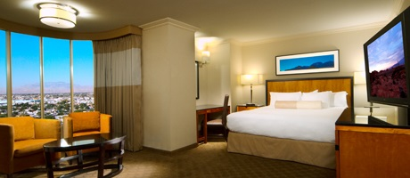 Petite Suite hotel room is affordable luxury