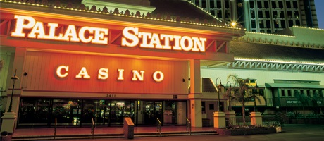 Front of Palace Station Hotel & Casino